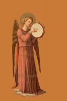 Engel mit Tamburin 3